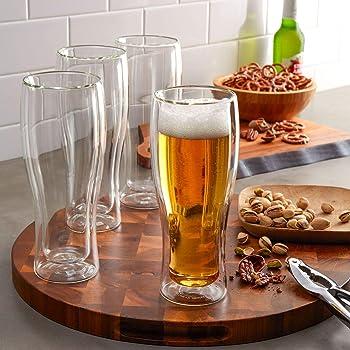 4-Pack Henckels International 14-oz. Double Wall Beer Glass