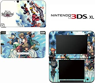 Kingdom Hearts 3D Dream Drop Distance Decorative Video Game Decal Cover Skin Protector for Nintendo 3DS XL