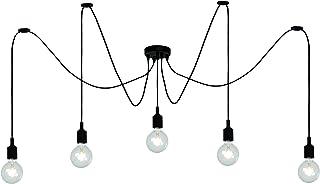 Lucide Fix Multiple – Colgante Leuchten – Negro