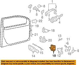 Genuine / OE Volkswagen Door Lock / Latch Assembly Module # 3B1837016CG - Passenger Side / Front