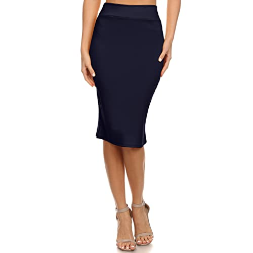ee07489a53 Women's Below the Knee Pencil Skirt for Office Wear - Made in USA