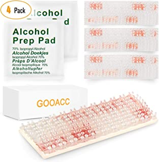 GOOACC 709 Mounting Kit-Dual Lock Tape-2 Sets of Peel-and-Stick EZ Pass/SunPass Adhesive Strips with Alcohol Prep Pad