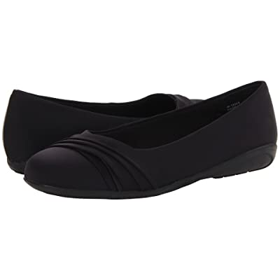 Walking Cradles Flick (Black Micro Soft Leather) Women