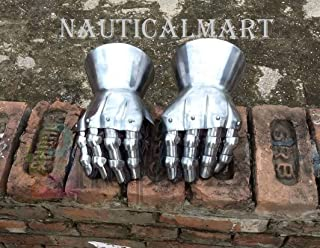 NAUTICALMART Medieval Gauntlet Armour Pair of SCA Historical for Combat
