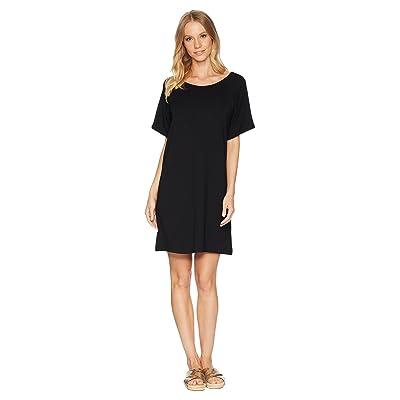 BB Dakota Shae Keyhole Back Knit Dress (Black) Women