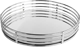 Best round mirror tray silver Reviews
