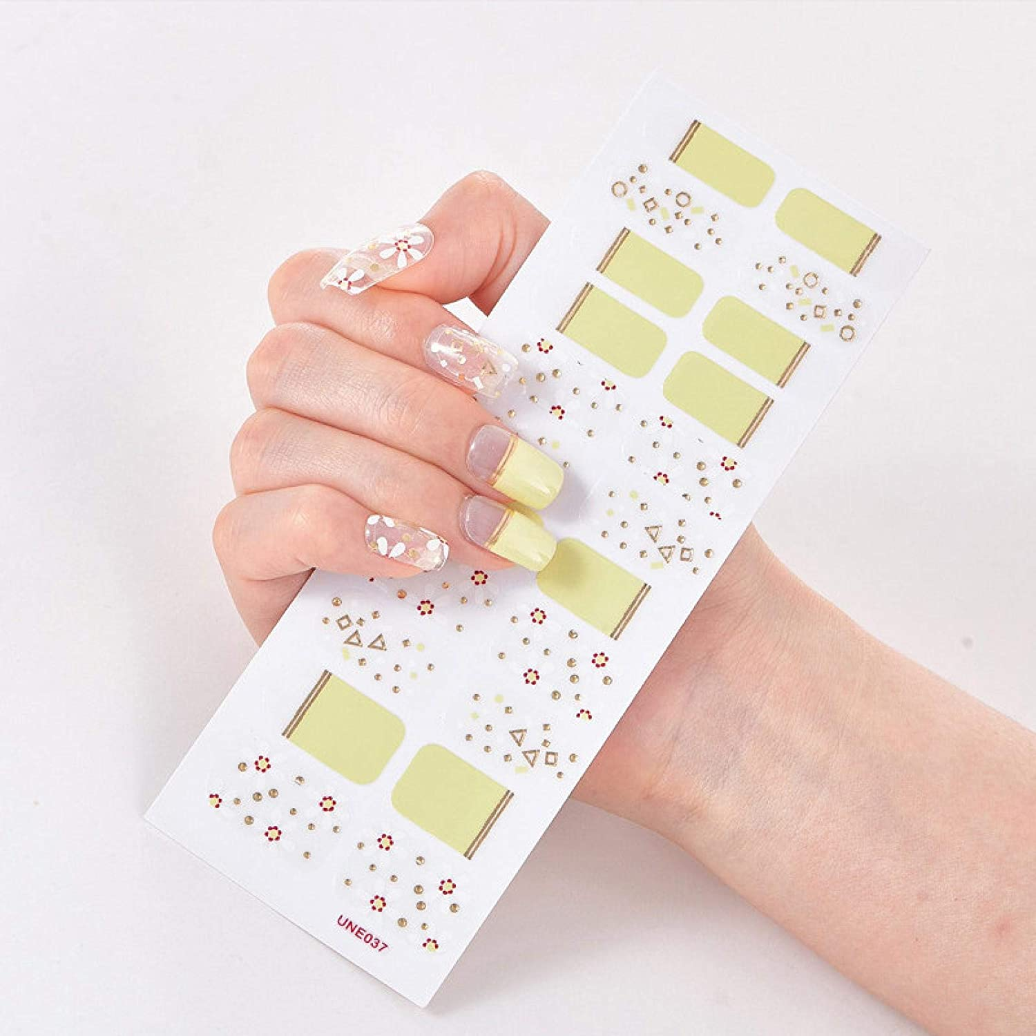MWBLN Nail Stickers 22tips Art DIY Sticker OFFicial Sale Special Price shop Manic Decoration