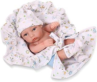(Boy) - npkdoll reborn baby doll hard silicone 11inch 28cm small quilt boy