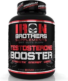 تقویت کننده تستوسترون برای مردان - بلوک کننده استروژن - مکمل انرژی طبیعی، استحکام و قدرت - رشد ماهیچه های چربی - افزایش چربی - افزایش عملکرد مرد (1 بطری)