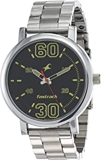Fastrack Fundamentals Black Dial Analog Watch for Men