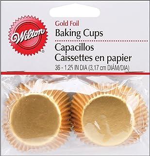 Wilton Gold Mini Cups, 36-Count