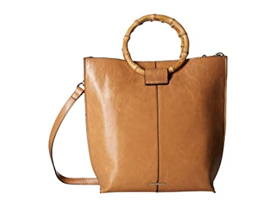 Vince Camuto Iggy Small Tote (Oak) Tote Handbags