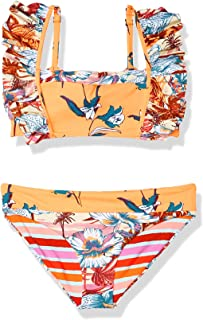 Maaji Girls Bikini Set, Orange, 04