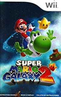 Super Mario Galaxy 2 Wii Instruction Booklet (Nintendo Wii Manual Only - NO GAME) (Nintendo Wii Manual)