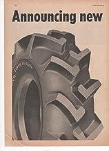 B.F. Goodrich Power-Curve Cleats Tires Tractors 2 Pg 1950 Farm Advertisment