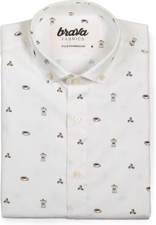 Brava Fabrics Camisa Roasted Morning - Algodón Orgánico ...
