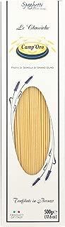 Camp'Oro Le Classiche Italian Bronze Die Cut Pasta, Spaghetti, 17.6 Ounce (Pack of 12)