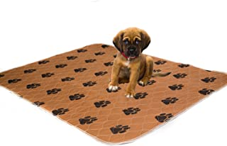 Washable Pee Pads For Dogs. Thick, Comfortable, Super Absorbent & Leak Proof Reusable Puppy Training Dog Mats. Simple solution for Dog Incontinence- Size LARGE 70x80 cm by KEAI OZZIE