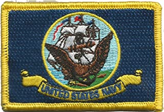 Navy Flag Tactical Patch - Military