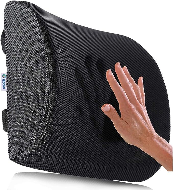 352 opinioni per Cuscino Lombare Memory Foam- Cuscino Per la Schiena e Cervicale, in Auto, sedia