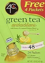 4C Iced Tea Stix Totally Light Tea2Go Green Tea Antioxidant with Honey