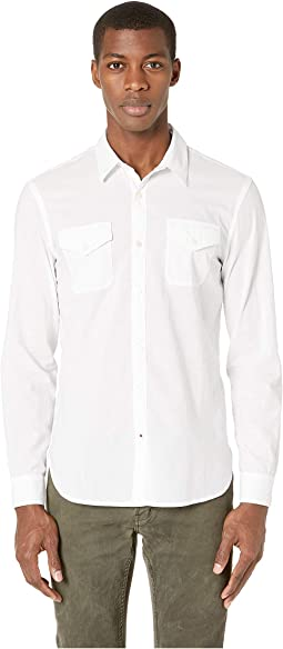 Foster Sport Shirt w/ Double Chest Pockets W633V1B