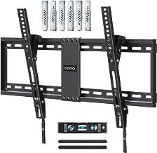 Eono by Amazon - Soporte TV Pared Inclinable, Soporte de Televisión para Muchos 37-70 Pulgadas LED, LCD, OLED y Plasma Televisores de hasta VESA 600x400mm y 60kg, con Tacos Fischer, PL2268-LK