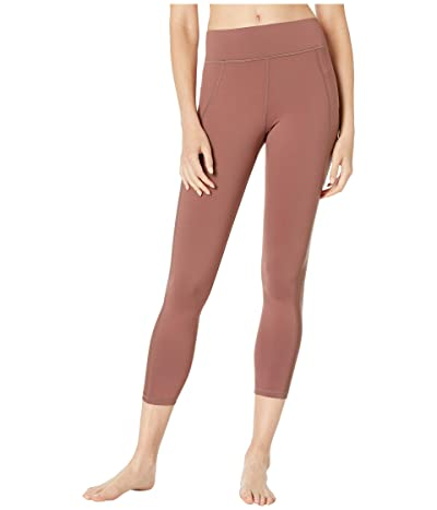MICHI Stardust Shine Leggings (Rosewood) Women
