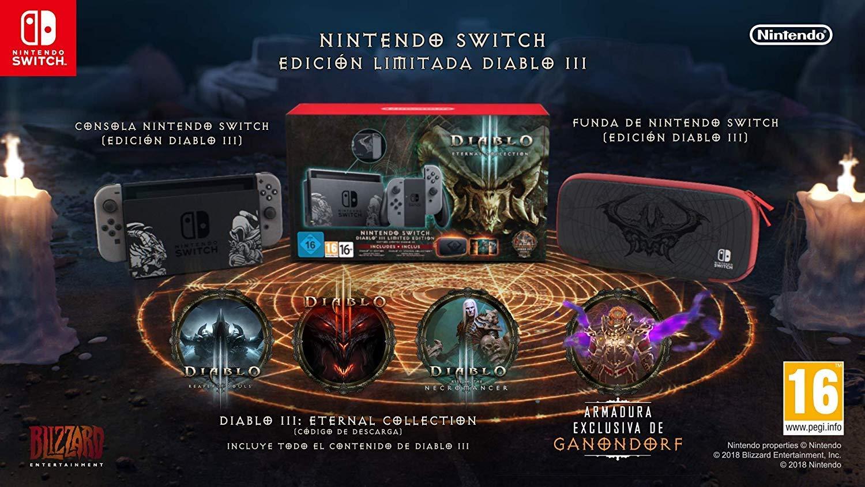 Nintendo Switch - Edición Limitada Diablo III: Nintendo: Amazon.es: Videojuegos