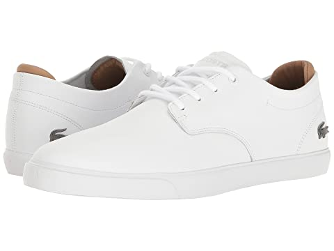 Lacoste Espere 117 1 Cam White Cheap Sale 2018 New Sale Pictures FC14DNC0Jf