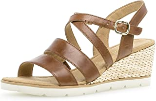 39ec86c6fa8582 Gabor 25.750 Femme,Sandales compensées,Chaussures d'été,Confortable,Plat,