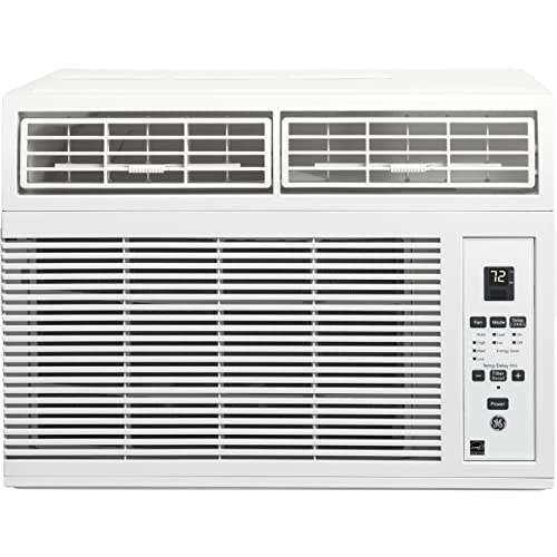 "GE AHM06LW 19"" Energy Star Qualified Window Air Conditioner with 6,150 BTU Cooling Capacity"