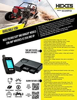 Scorpio RD-KT-US00SE Ride-SE Alarm