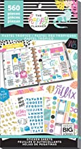 Best me & my BIG ideas Sticker Value Pack - The Happy Planner Scrapbooking Supplies - 30 Sheets of Stickers - Pastel Tropics Theme - Multi-Color Stickers - Great for Projects & Albums - 560 Stickers Total Review