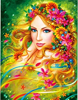 KWYZ Puzzles 1000 Pieces for Adults Kids – The Beautiful Faery Jigsaw Puzzle Toy, Artwork Art Large Size (27.56 in x 19.69 in)