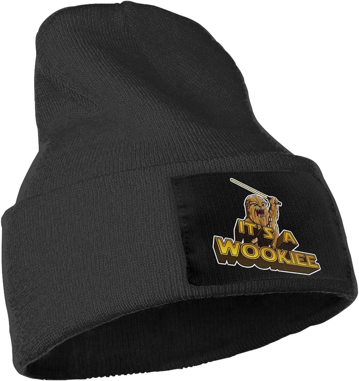 LADHRNZCMX Chew-Bacca Man and Woman Knit Hat Beanie Winter Warm Cap Fashion Hats Black