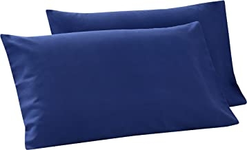 Nimoco Soft Pillowcases 20x 30 Made by Skin-Friendly Polyester Set of Two Cases - Blue