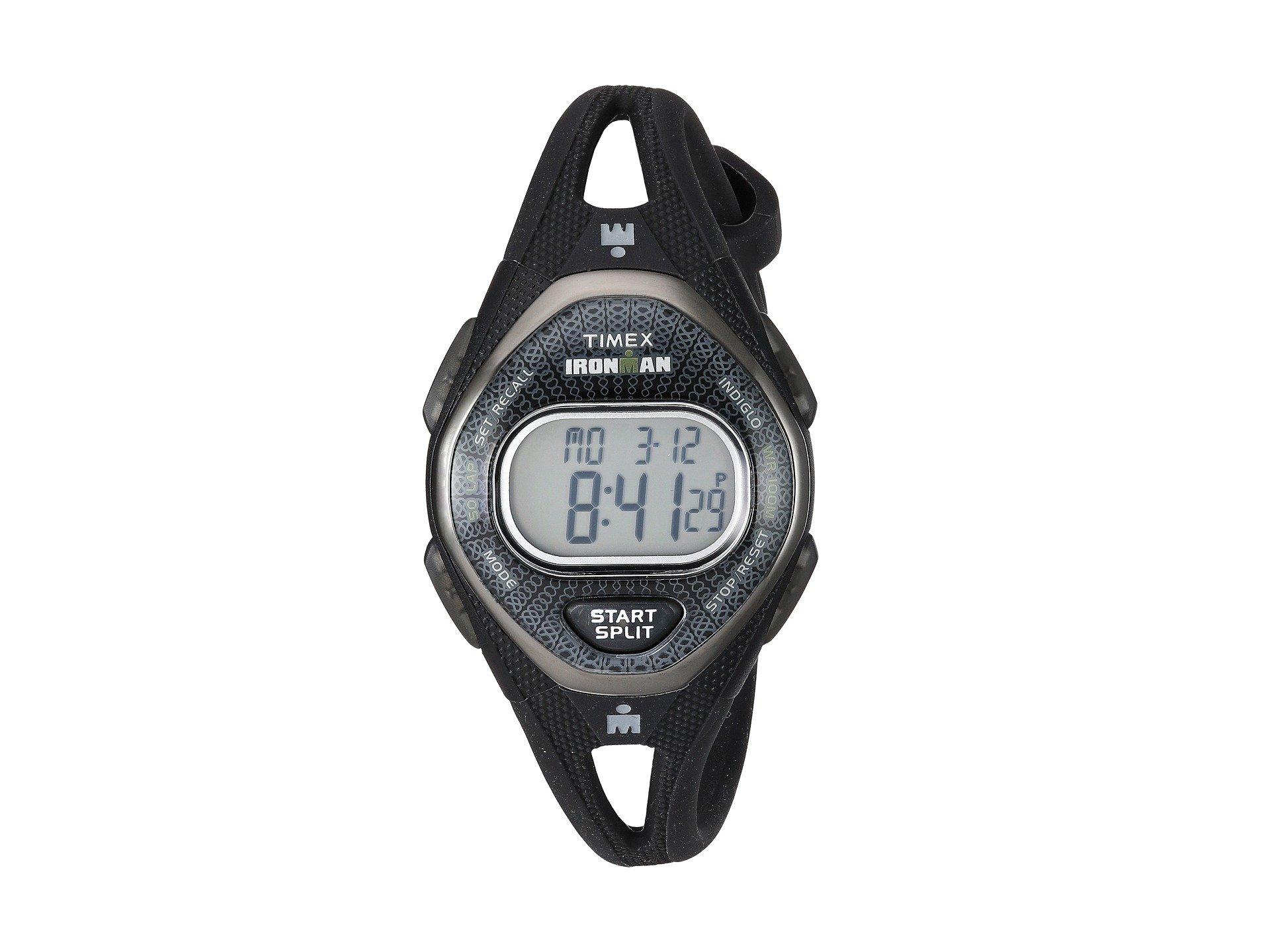 Reloj para Mujer Timex Ironman Sleek 50 Mid-Size Silicone Strap  + Timex en VeoyCompro.net