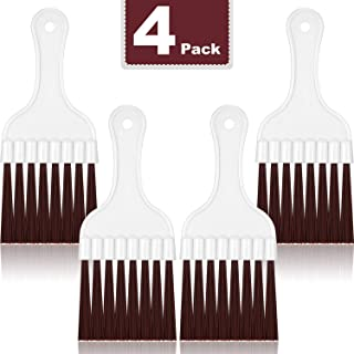 Tanlee 4 Pieces Air Conditioning Fin Cleaning Brush Refrigerator Coil Cleaning Whisk Brush Cleaner (4 Pieces)