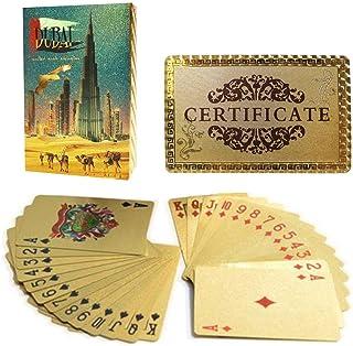 HAPPYTOYS 24K Gold Foil Playing Cards -BURJ KHALIFA