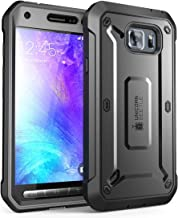 SupCase Unicorn Beetle PRO Series, Full-Body Rugged Holster Case for Galaxy S6 Active, with Built-in Screen Protector for Samsung Galaxy S6 Active 2015 Release Only, Not for Galaxy S6 (Black)