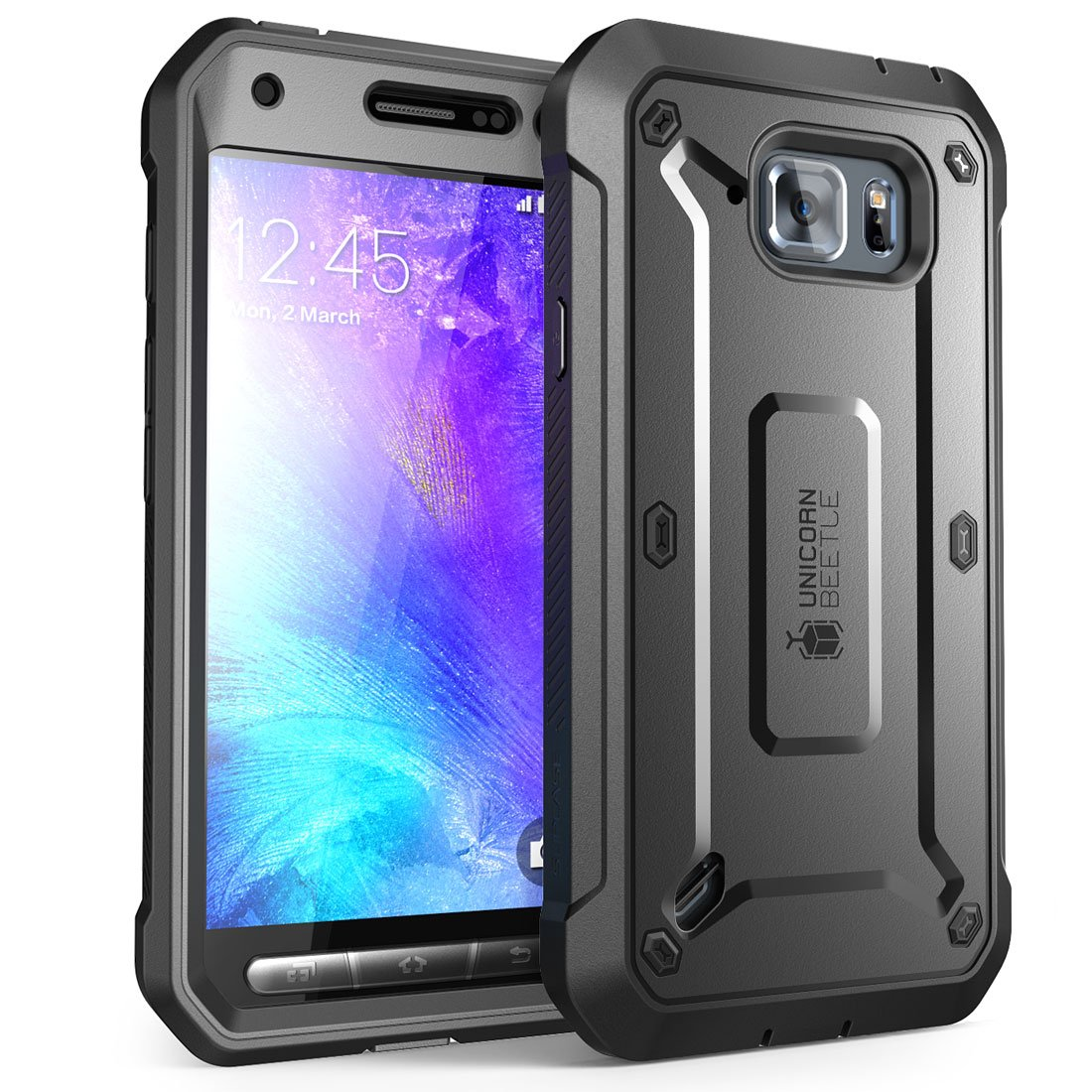 samsung s6 active cases amazon comsupcase galaxy s6 active case, unicorn beetle pro series full body rugged holster case