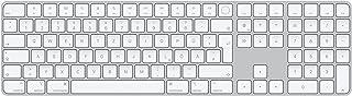 Apple MagicKeyboard met TouchID en numeriek toetsenblok (voor Macs met AppleSilicon) - Duits - zilver