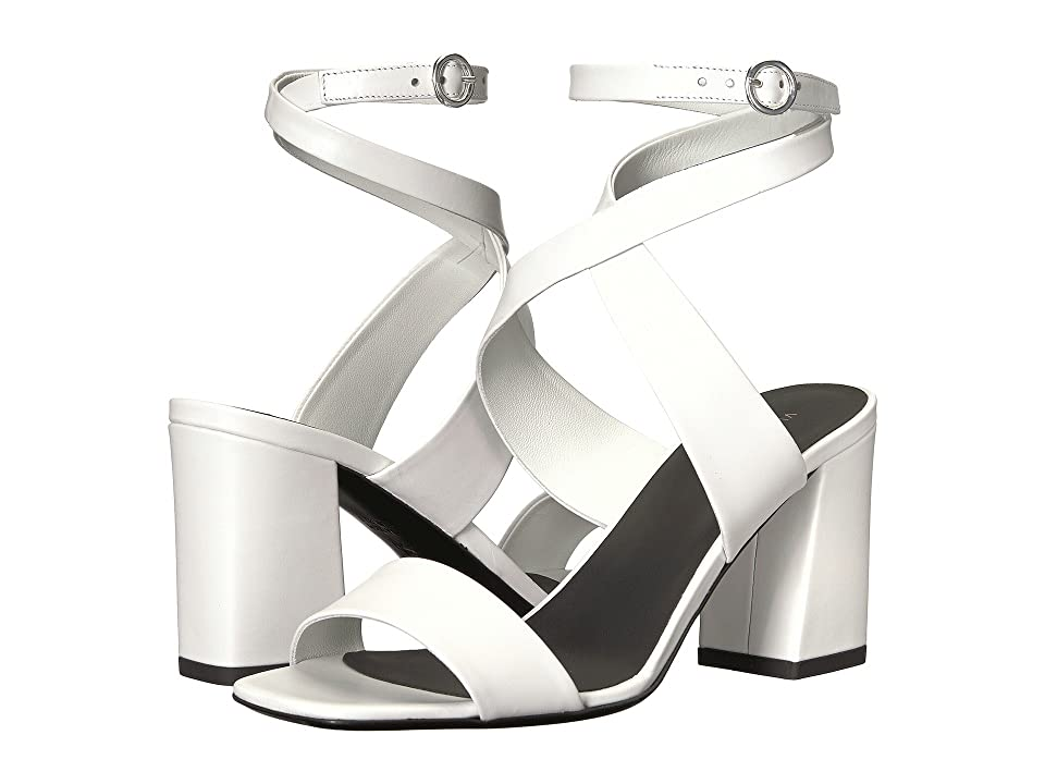 Via Spiga Evelia Heeled Sandal (Porcelain Leather) Women