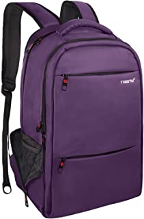 LAPACKER Travel Laptop Backpack 15.6 - 17 inch Business Anti Theft Durable Computer Bag for Women & Men Large Capacity Water Resistant College School Bag - Purple