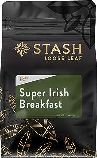 Stash Tea Super Irish Breakfast Loose Leaf Tea 3.5 Ounce Pouch Loose Leaf Premium Herbal Tea for Use with T...