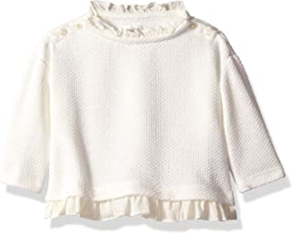 Gymboree Baby Girls Long Sleeve Ruffle Top