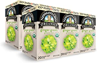 Newman's Own Organics Ginger Green Tea, 1.41 Ounce. Packaging May Vary.