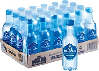 Ice Mountain Classic Sparkling Water, 350ml (Pack of 24)