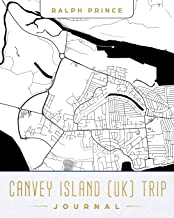 Canvey Island (UK) Trip Journal: Lined Travel Journal/Diary/Notebook With Canvey Island (UK) Map Cover Art